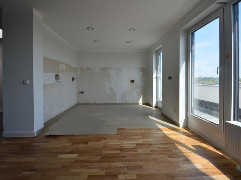 Penthouse Naueim - Küche Neu